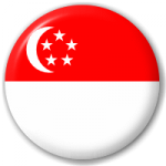 singapore flag button