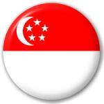 singapore flag button